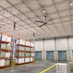 Hunter ECO 8FT HVLS Fan - Commercial Facility